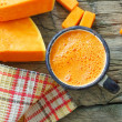 Pumpkin juice — Stock Photo