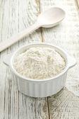 White flour — Stock Photo