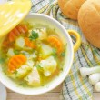 Vegetable soup — Stock Photo #26503433