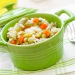 Rice with vegetables — Stock Photo #26503767