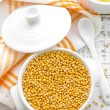 Stock Photo: Mustard seeds
