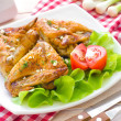 Chicken wings — Stock Photo #27783225