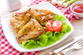 Chicken wings — Stock Photo