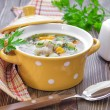 bean soup — Stock Photo