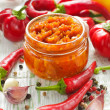 Chili sauce — Stock Photo