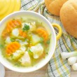 vegetable soup&quot — Stock Photo #30402999