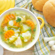 Vegetable soup — Stock Photo #30402999