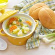 vegetable soup&quot — Stock Photo