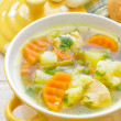 vegetable soup&quot — Stock Photo #30403071
