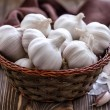 Fresh garlic — Stock Photo