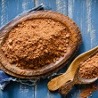 Stock Photo: Cocoa powder
