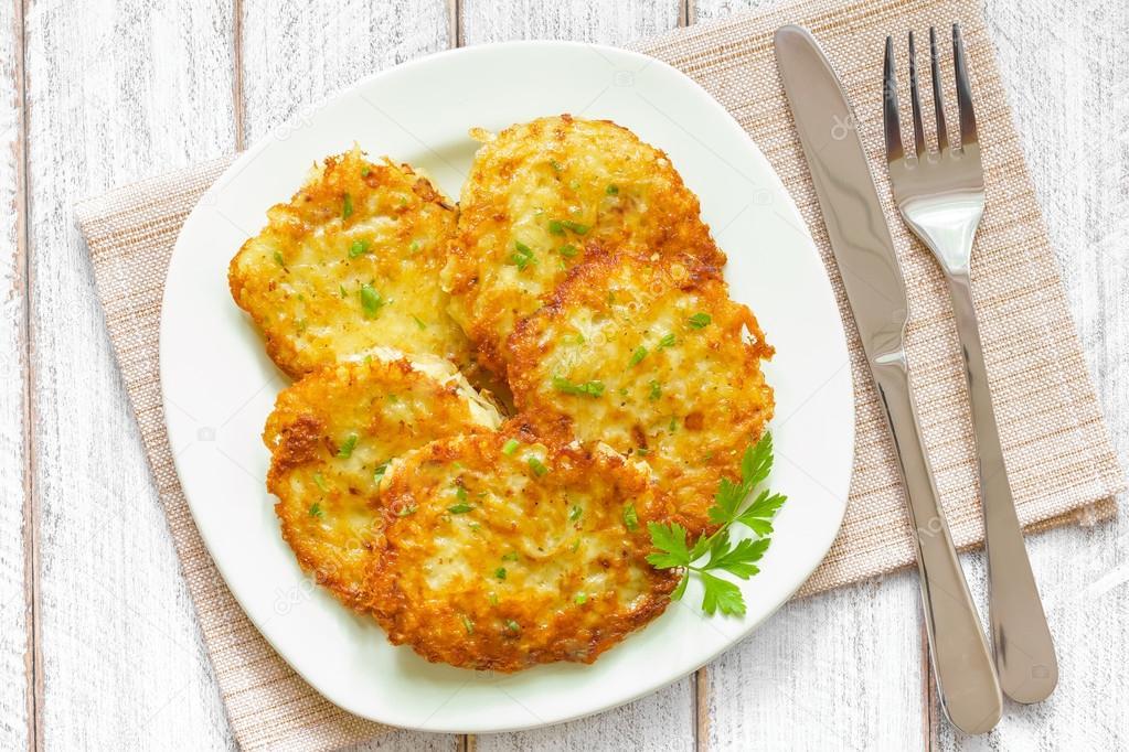 Картофельные драники с курицей пошаговый рецепт в