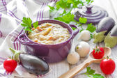 Eggplant puree — Stock Photo