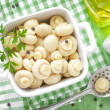Marinated mushrooms — Stock Photo