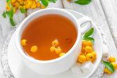 Hawthorn tea — Stock Photo