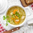 vegetable soup&quot — Stock Photo #32738905