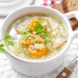 vegetable soup&quot — Stock Photo #32738941