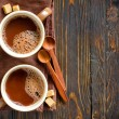 Stock Photo: Cocoa drink