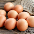 Brown eggs — Stock Photo #34268285