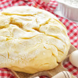 Kneading dough — Stock Photo