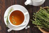 Thyme tea — Stock Photo