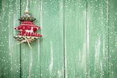 Hangende decoratie van Kerstmis — Stockfoto