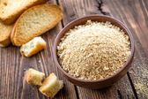 Breadcrumbs — Stock Photo