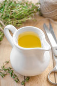 Thyme oil — Stock Photo