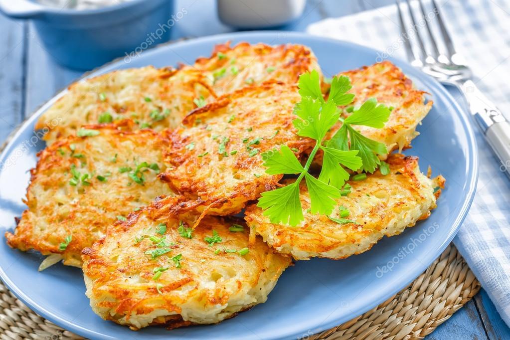 Драники картофельные с ветчиной рецепт пошаговый