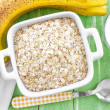 Oat flakes — Stock Photo #40402725
