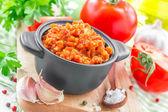 La sauce salsa — Photo