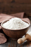Flour on a table — Foto de Stock