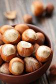 Hazelnuts — Stockfoto