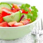 Zeleninový salát — Stock fotografie