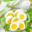 Stock Photo: Boiled eggs