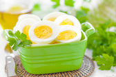 Boiled eggs — Foto Stock