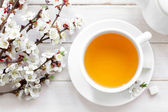 Fresh tea — Stockfoto