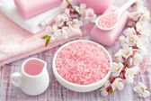 Pink spa — Stock Photo