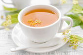 Linden tea — Stockfoto