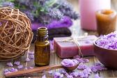 Lavendel spa — Stockfoto