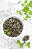 Tea with mint — Stock Photo