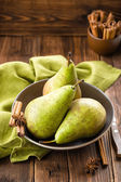 Fresh pears — Stockfoto