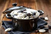 Syrové fazole — Stock fotografie