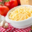 Grated cheese — Stock Photo #45044425