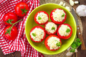 Stuffed tomatoes — Stock Photo