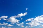 Hemel met wolken — Stockfoto