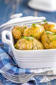 水煮的土豆 — 图库照片