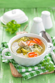 Broccoli soep — Stockfoto