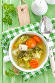 Soupe de brocoli — Photo