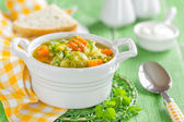 Vegetable soup — Stock Photo